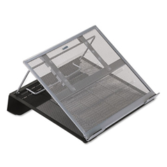 ROL82410 - Rolodex™ Mesh Laptop Stand with Cord Organizer
