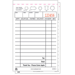 RPPGC1012 - Royal Guest Check Book