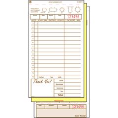 RPPGC4997-3 - Guest Check Book