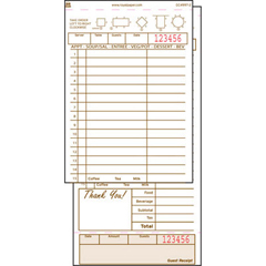RPPGC49972 - Royal Guest Check Book