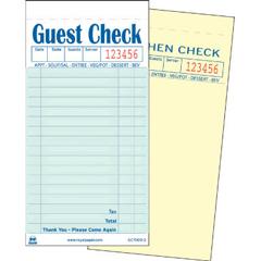 RPPGC7000-2 - Guest Check Book
