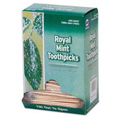 RPPRM115 - Cello-Wrapped Round Wood Toothpicks