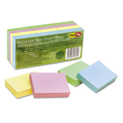 RTG25701 - Redi-Tag® 100% Recycled Self-Stick Notes