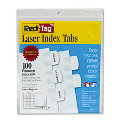 RTG33117 - Redi-Tag® Laser and Inkjet Printable Index Tabs
