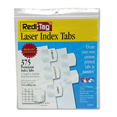 RTG39017 - Redi-Tag® Laser and Inkjet Printable Index Tabs