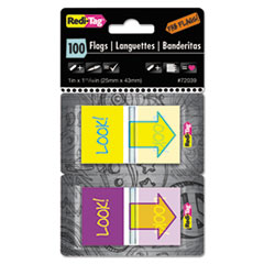 RTG72039 - Redi-Tag® Pop-Up Fab Flags with Dispenser