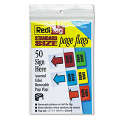 RTG76830 - Redi-Tag® Removable/Reusable Standard Page Flags Value Pack