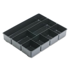 RUB11906ROS - Rubbermaid® Extra-Deep Plastic Desk Drawer Director™ Tray