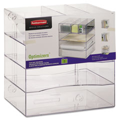 RUB94600ROS - Rubbermaid® Optimizers™ Multifunctional Four-Way Organizer with Drawers