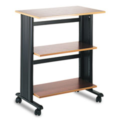 SAF1881CY - Safco® Mobile Tri-Level Printer/Machine Stand