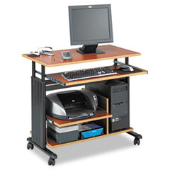 SAF1927CY - Safco® Adjustable Height Mini-Tower Computer Workstation
