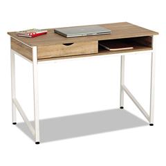 SAF1950WH - Safco® Single Drawer Office Desk