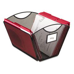 SAF2162BL - Safco® Onyx™ Mesh Desktop Tub File