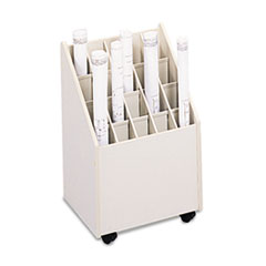 SAF3082 - Safco® Laminate Mobile Roll Files