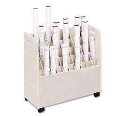 SAF3083 - Safco® Laminate Mobile Roll Files