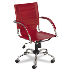 SAF3456RD - Safco® Flaunt™ Series Mid-Back Managers Chair