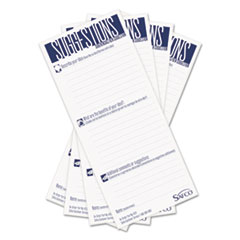 SAF4231 - Safco® Suggestion Box Cards