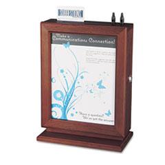 SAF4236MH - Safco® Customizable Wood Suggestion Box