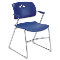 SFC4286BU - SafcoSafco® Veer™ Series Stacking Chair