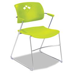 SAF4286GS - Safco® Veer™ Flex Back Stacking Chair