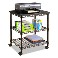 SAF5207BL - Safco® Desk Side Wire Machine Stand