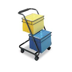 SAF5223BL - Safco® Jazz™ Two-Tier File Cart