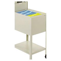 SAF5361PT - Safco® Standard Locking Mobile Tub File