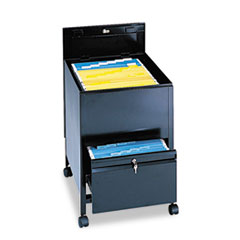 SAF5365BL - Safco® Locking Mobile Tub File with Drawer