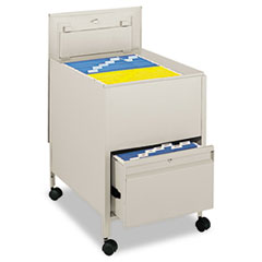 SAF5365PT - Safco® Locking Mobile Tub File with Drawer