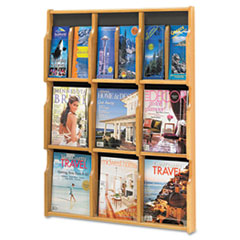 SAF5702MO - Safco® Expose Adjustable Magazine/Pamphlet Literature Display