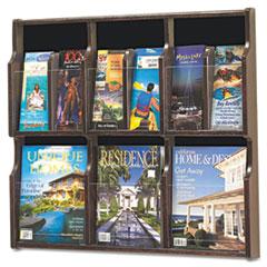 SAF5703MH - Safco® Expose Adjustable Magazine/Pamphlet Literature Display