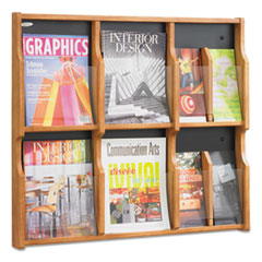 SAF5703MO - Safco® Expose Adjustable Magazine/Pamphlet Literature Display