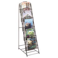 SAF6461BL - Safco® Onyx™ Magazine Floor Rack