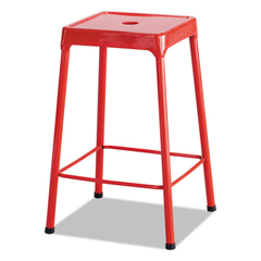 SAF6605RD - Safco® Counter-Height Steel Stool