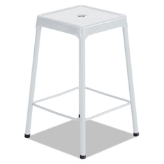 SAF6606WH - Safco® Bar-Height Steel Stool