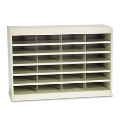 SAF9211TSR - Safco® E-Z Stor® Literature Organizers with Steel Frames and Shelves