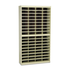 SAF9241TSR - Safco® E-Z Stor® Literature Centers with Steel Frames and Shelves