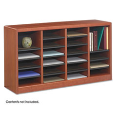 SAF9311CY - Safco® Wood E-Z Stor® Literature Organizers