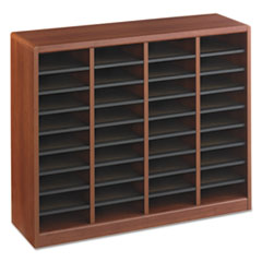 SAF9321CY - Safco® Wood E-Z Stor® Literature Organizers
