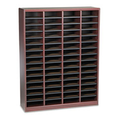 SAF9331MH - Safco® Wood E-Z Stor® Literature Organizers