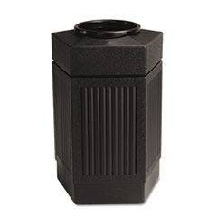 SAF9485BL - Safco® Canmeleon Indoor/Outdoor Pentagon Receptacle