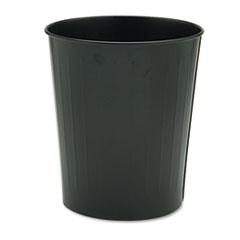 SAF9604BL - Safco® Fire-Safe Round Wastebasket
