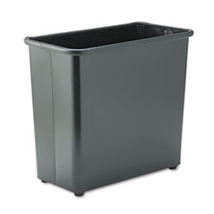 SAF9616BL - Safco® Square and Rectangular Fire-Safe Wastebaskets