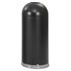 SAF9639BL - Safco® Dome Top Receptacle with Open Top
