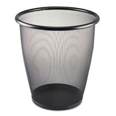 SAF9717BL - Safco® Onyx™ Round Mesh Wastebaskets