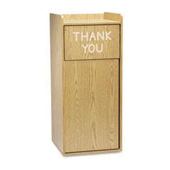 SAF9729MO - Safco® Wood Waste Receptacles