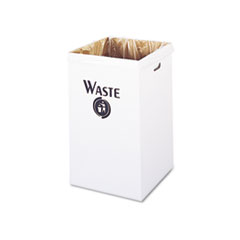 SAF9745 - Safco® Corrugated Waste Receptacle