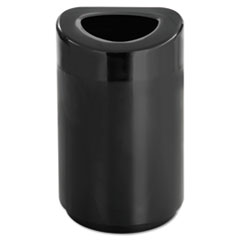SAF9920BL - Safco® Open Top Round Waste Receptacle