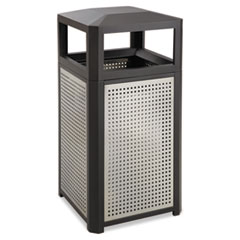SAF9934BL - Safco® Evos™ Series Steel Waste Container