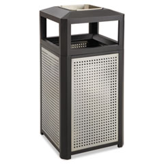 SAF9935BL - Safco® Evos™ Series Steel Waste Container